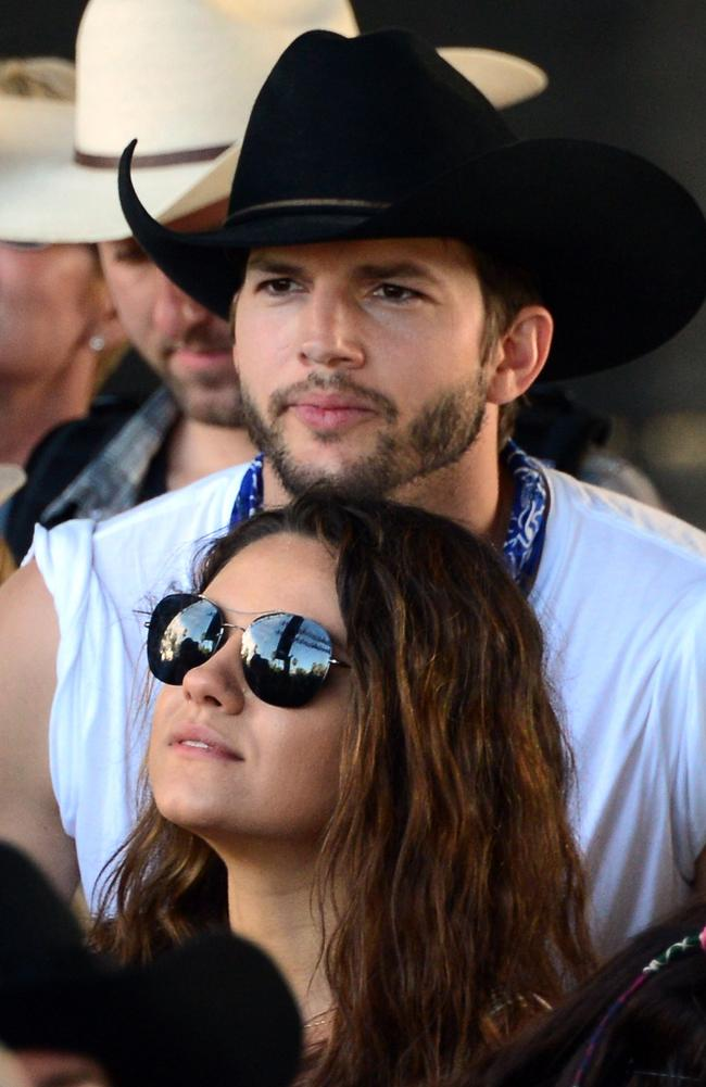 The interviewer was about ready for Ashton Kutcher to jump out from behind a pot plant and announce he'd been Punk'd. Picture: Getty Images