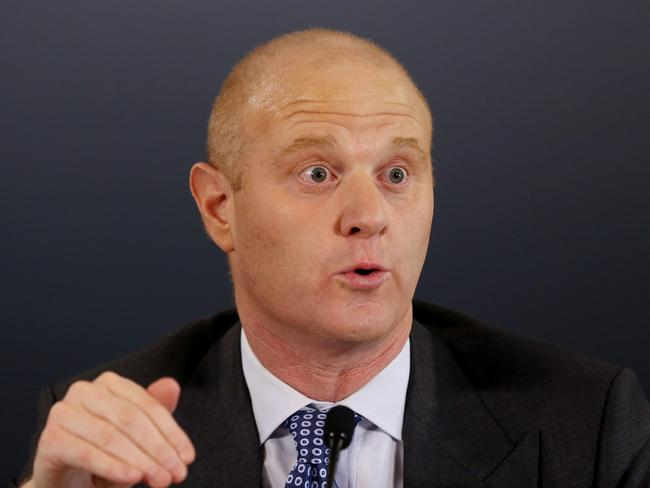 Record $8.68 billion full year cash profit ... Commonwealth Bank Chief Executive Officer Ian Narev. Picture: AAP