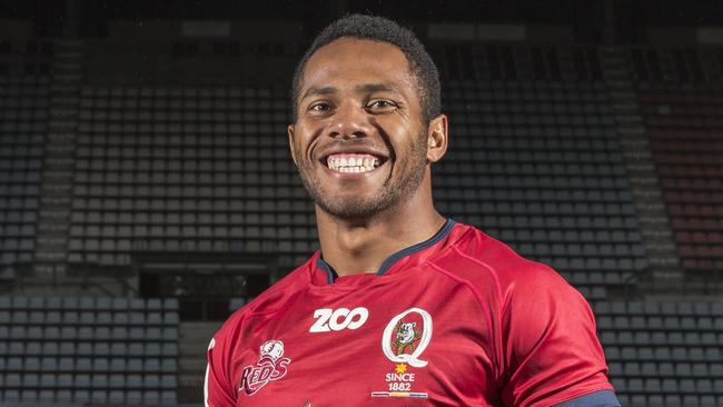 Queensland Reds signing Filipo Daugunu.