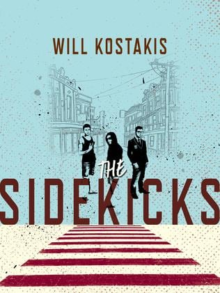 Mr Kostakis' new book Sidekicks might upset parents, the author was told. Picture: Supplied