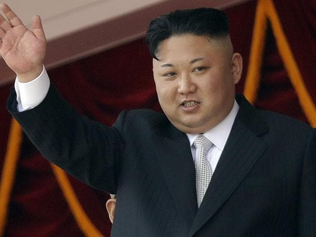 North Korean leader Kim Jong-un is determined to build up his missile arsenal. Picture: Wong Maye-E/AP