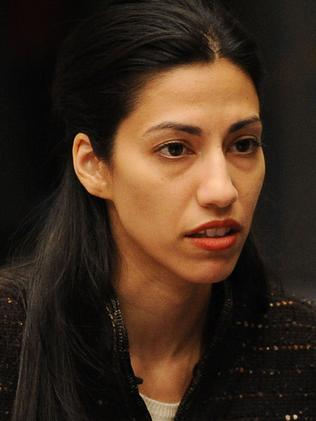 Weiner's long-suffering wife Huma Abedein.