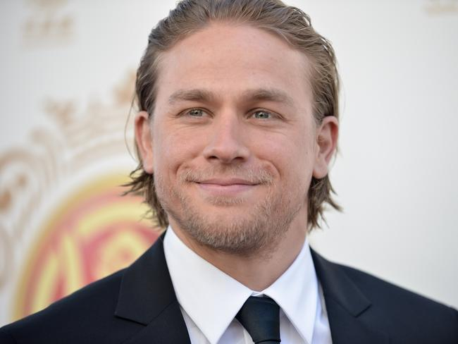 Missed ... Sons of Anarchy actor Charlie Hunnam withdrew from part of Christian Grey.
