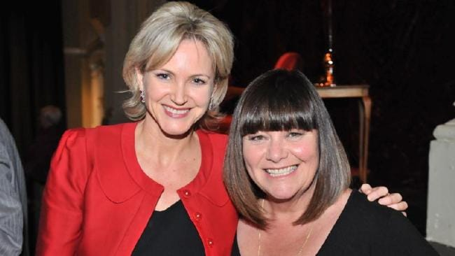 Smokin' hot: Labor MP Melissa Parke with British comedian Dawn French in June this year. (Pic: Stewart Allen)