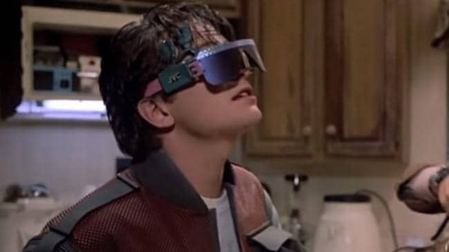 "Michael J. Fox in ""Back to the Future II""."