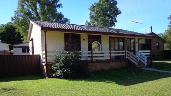 This home in Wilmot is one of six properties owned by Denny Jones. NSW real estate.