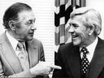 Victorian Premier Dick Hamer with Lou in 1978.