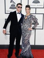 The couple walk the red carpet at the 2014 Grammy Awards late last month in Los Angeles, the last time the pair have been seen together. Picture: Getty