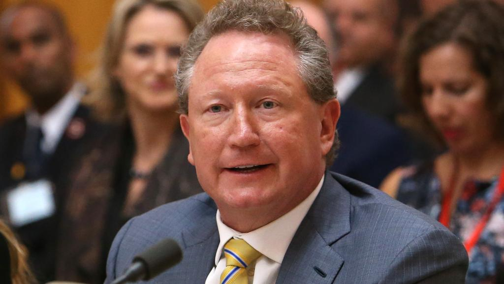 Andrew Forrest, who is pushing for an end to slavery in India and linking it to a free-trade agreement with Australia.
