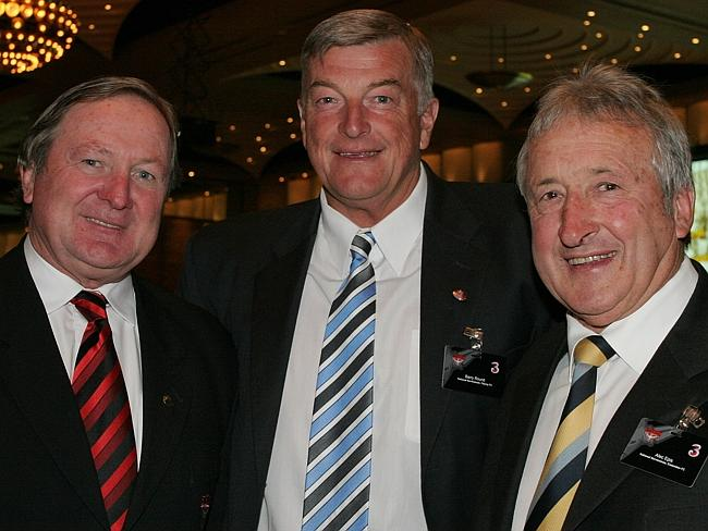 From the archives ... Kevin Sheedy, Barry Round and Alec Epis in 2006.