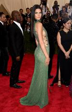 """Kendall Jenner attends the Met Gala 2015 """"China: Through The Looking Glass"""". Picture: Getty"""