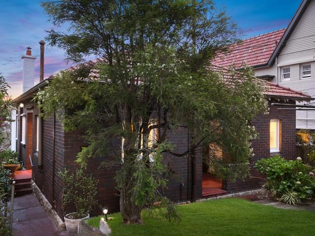 The home is one of the last of its kind in Mosman