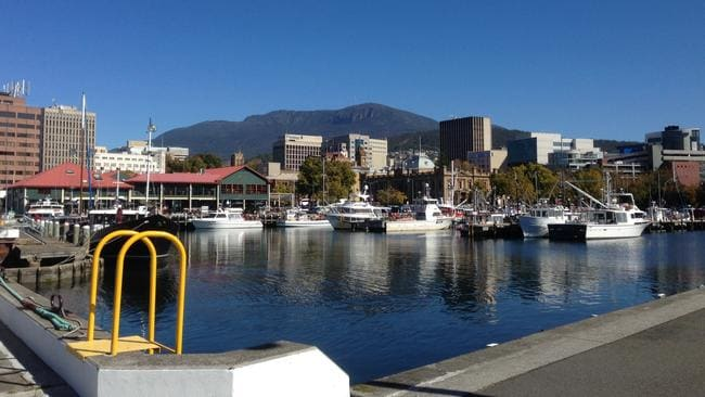 Hobart may benefit from interstate interest. Photo: Linda Larsen