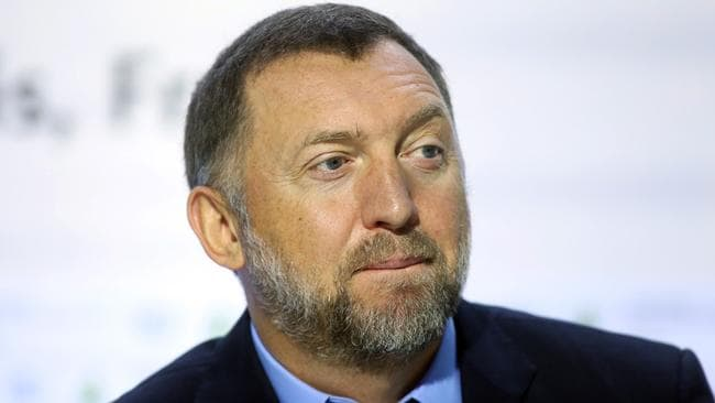 Oleg Deripaska, billionaire and president of United Co. Rusal, allegedly discussed America's relationship with Russia on a private yacht.