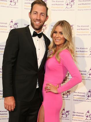 Travis Cloke and Rebeccah Panozza.