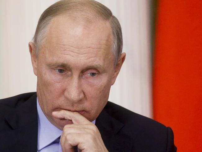 Putin has made his country's ambitions clear. Picture: Sergei Chirikov/AP