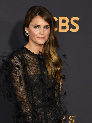 Keri Russell arrives at 69th Emmy Awards. Picture: AFP