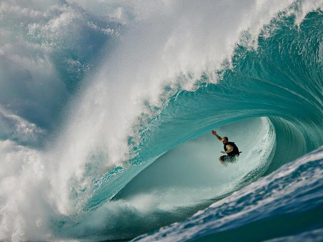 The world's heaviest wave is the ultimate test of skill.