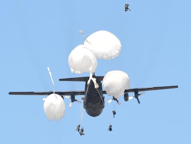 The NATO exercises are taking place in Poland. Picture: Alik Keplicz/AP