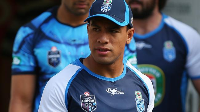 Will Hopoate leads the pack of Blues hopefuls for game two.