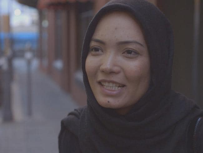 Rahila was left shaken following the experiment and said she was shocked by some of the reactions she received. Picture: SBS