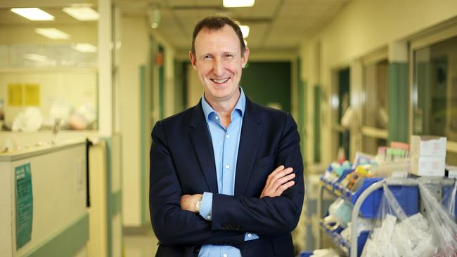 Heart surgeon Professor David Winlaw. Picture: Tim Hunter.