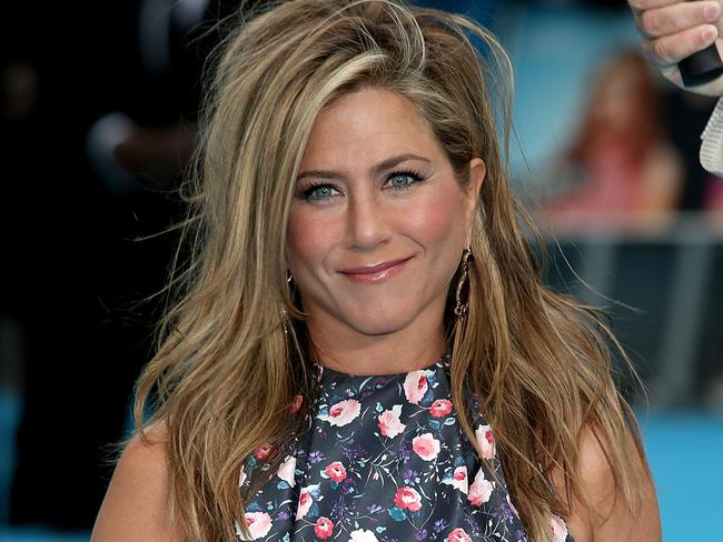 No wonder Jennifer Aniston is smiling, she's making millions.