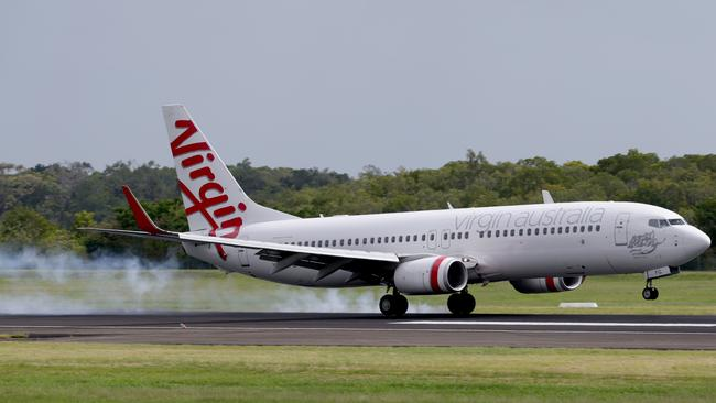 Gaining speed. Virgin Australia's Velocity program has been found to be superior to the Qantas Frequent Flyer program. Pic: Marc McCormack