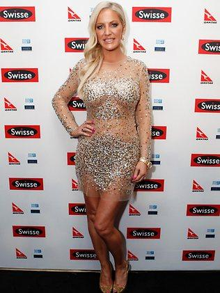 Brynne Edelsten was among the VIP crowd at the cocktail party. Picture: Julie Kiriacoudis