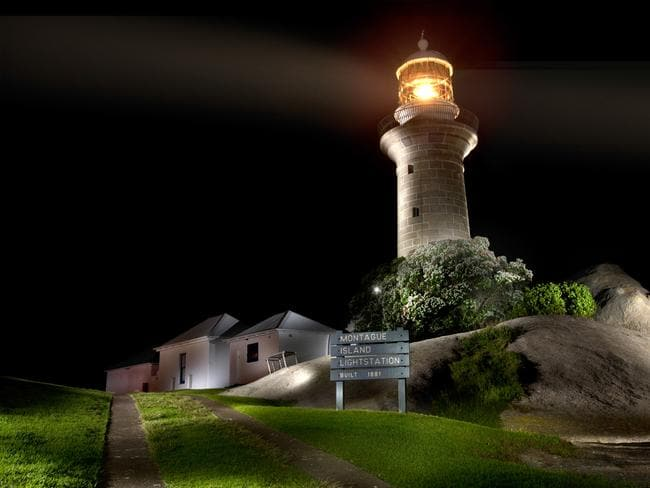 Montague Island Lightstation is the landmark feature of the island. Picture: IUCN World Parks Congress