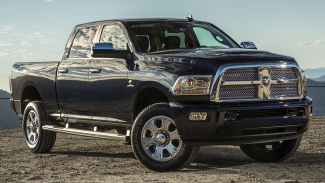 Heavy metal ... the 2016 Dodge Ram. Picture: Supplied.