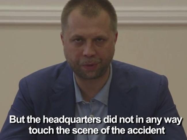 Self-proclaimed Prime Minister of the pro-Russian separatist Donetsk People's Republic, Alexander Borodai.