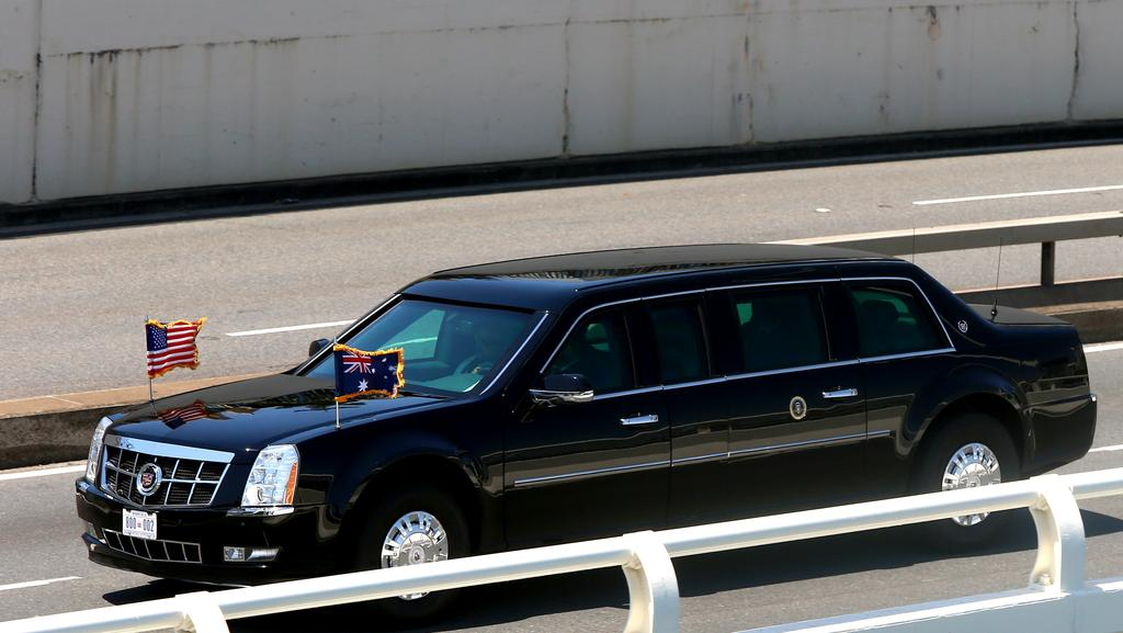 President-elect Donald Trump\'s new limo | Herald Sun