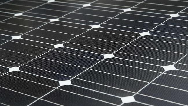 Solar panels. The energy source of the future? Picture: Reuters/Benoit Tessier