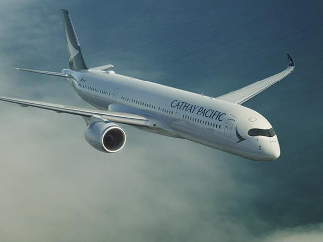 Professor Eastwood is working with Cathay Pacific, which recently introduced its new A350 aircraft on its Perth to Hong Kong route.