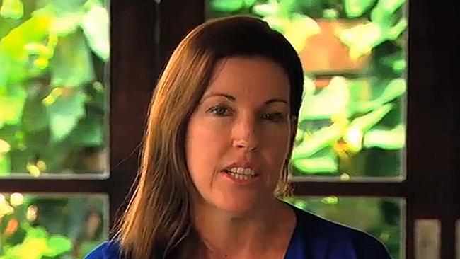 No deal ... in a pre-recorded statement, Mercedes Corby denied her sister was being paid $2 million for an interview with Seven.