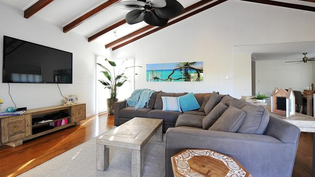 Renovated ... The house in Pallarenda in Townsville was transformed.