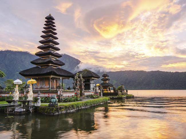 Airfares to Bali are now lower than ever. Picture: iStock