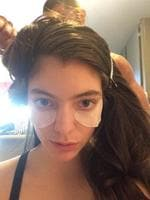 "Behind The Scenes 2014 MTV VMAs... Singer Lorde, ""let's do this vma thing"" Picture: Twitter"
