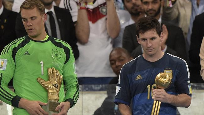 Manuel Neuer was seen as a deserved best goalkeeper winner, Lionel Messi though has polarised opinion.
