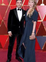 Oscar Isaac and his wife Elvira Lind. Photo: Getty
