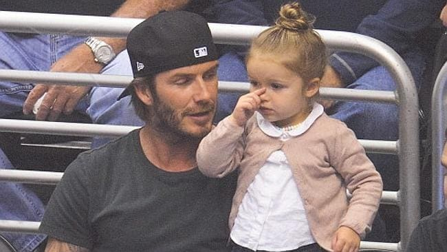 David and Victoria Beckham influenced naming trends last year with their daughter Harper.