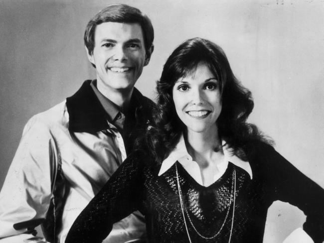 The Carpenters were on top of the world.