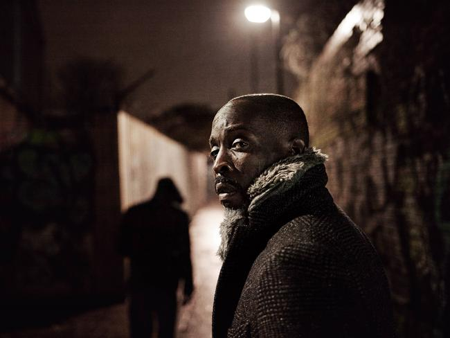 <i>The Wire</i> star Michael K. Williams in  <i>Black Market</i>.