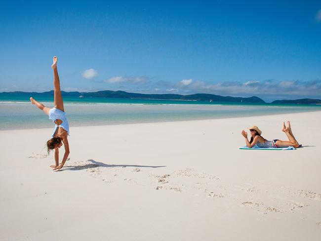 Whitehaven Beach in the Whitsundays only rates as world No.12.