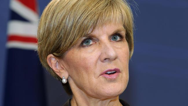 'Ghastly' ... Foreign Minister Julie Bishop is under pressure to act.