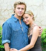 <p>2007... Asher Keddie with Dan Wyllie in TV show 'Love My Way'.</p>