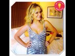 "Behind The Scenes Emmy Awards 2014... Actress Amy Poehler posts, ""Smart Girl at the Emmys!"" Picture: Instagram"
