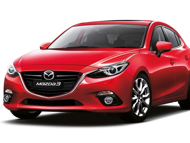 Cheaper than before ... the Mazda3. Picture: Supplied