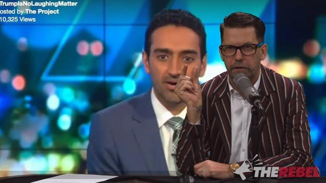 An editorial criticising Waleed Aly starts off brash, and stays that way.